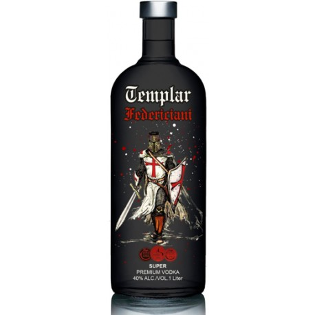 Vodka Templar Federiciani Black