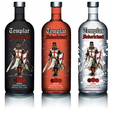 Vodka Templar Federiciani Red